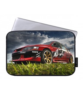 Gt5 lancer evo printed laptop sleeves